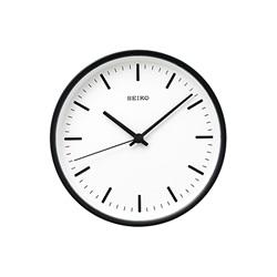 <ヤマギワ> SEIKO(セイコー)「STANDARD」アナログ電波クロック φ200mm / ブラック[221KX310K] 掛け時計 カケドケイ画像