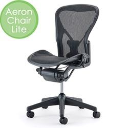 HermanMiller(ハーマンミラー)「Aeron Chair Lite(アーロンチェアライト)」アームレス/Bサイズ/クラシック