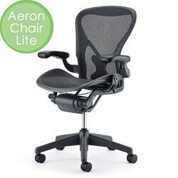 HermanMiller(ハーマンミラー)「Aeron Chair Lite(アーロンチェアライト)」固定アーム/Bサイズ/クラシック
