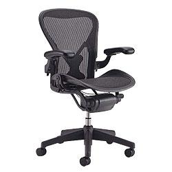 HermanMiller(ハーマンミラー)「Aeron Chair(アーロンチェア)」グラファイトカラーベース/フル装備/Aサイズ/クラシック