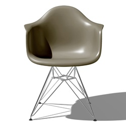 Herman Miller(ハーマンミラー) Eames Shell Chair / Armchair(DAR) スパロー【取寄品】[267DAR479JE8]