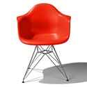 Herman Miller(ハーマンミラー) Eames Shell Chair / Armchair(DAR) レッド【取寄品】[267DAR47ZEE8]