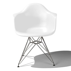 Herman Miller(ハーマンミラー)Eames Shell Chair / Armchair(DAR)ホワイト【取寄品】[267DAR47ZFE8]
