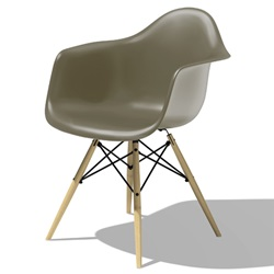 Herman Miller(ハーマンミラー)Eames Shell Chair / Armchair(DAW)スパロー【取寄品】[267DAWBKZ59J]