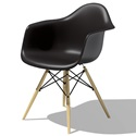 Herman Miller(ハーマンミラー)Eames Shell Chair / Armchair(DAW)ブラック【取寄品】[267DAWBKULZA]