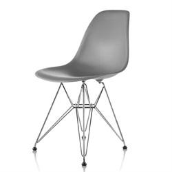 Herman Miller(ハーマンミラー)Eames Shell Chair / Side Chair(DSR)チャコール【取寄品】