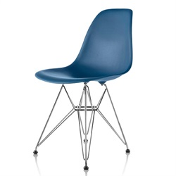 Herman Miller(ハーマンミラー) Eames Shell Chair / Side Chair(DSR) ピーコックブルー【取寄品】