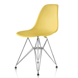 Herman Miller(ハーマンミラー) Eames Shell Chair / Side Chair(DSR) ペイルイエロー【取寄品】