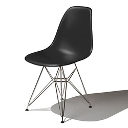 Herman Miller(ハーマンミラー) Eames Shell Chair / Side Chair(DSR) ブラック【取寄品】
