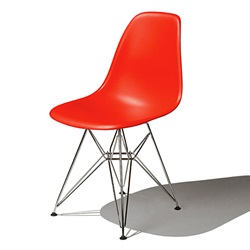 Herman Miller(ハーマンミラー)Eames Shell Chair / Side Chair(DSR)レッド【取寄品】