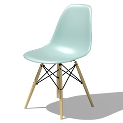 Herman Miller(ハーマンミラー) Eames Shell Chair / Side Chair(DSW) アクアスカイ【取寄品】[267DSWBKZ54T]