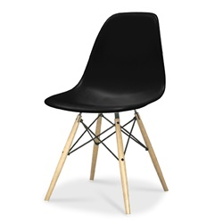 Herman Miller(ハーマンミラー) Eames Shell Chair / Side Chair(DSW) ブラック【取寄品】[267DSWBKULZAE8]