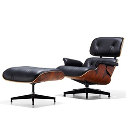 Herman Miller(ハーマンミラー)Eames Lounge Chair & Ottoman 特別セット サントスパリサンダー【取寄品】[267ES670719N2109]