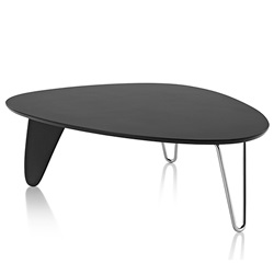 Herman Miller(ハーマンミラー)Noguchi Rudder Coffee Table エボニー【取寄品】[267IN52FD47]