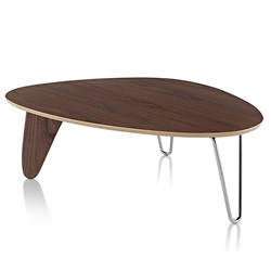 Herman Miller(ハーマンミラー)Noguchi Rudder Coffee Table ウォールナット【取寄品】[267IN52OU47]