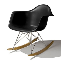 Herman Miller(ハーマンミラー) Eames Shell Chair / Armchair(RAR) ブラック【取寄せ品】[267RAR47Z5ZA]