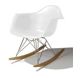 Herman Miller(ハーマンミラー) Eames Shell Chair / Armchair(RAR) ホワイト【取寄せ品】[267RAR47Z5ZF]