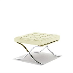 Knoll(ノル) Mies.v.d.Rohe Collection バルセロナスツール アイボリー