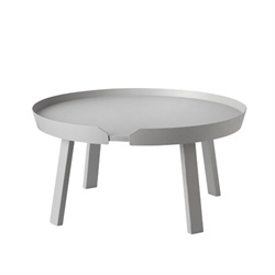 MUUTO(ムート)AROUND COFFEE TABLE LARGE Φ720 グレー