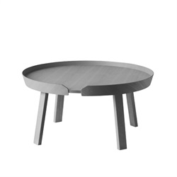 MUUTO(ムート)AROUND COFFEE TABLE LARGE Φ720 ダークグレー