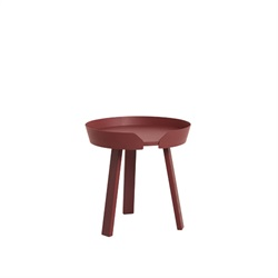 MUUTO(ムート) AROUND COFFEE TABLE SMALL Φ450 ダークレッド