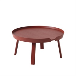 MUUTO(ムート) AROUND COFFEE TABLE LARGE Φ720 ダークレッド