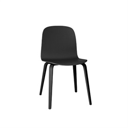 MUUTO(ムート)VISU CHAIR WOOD BASE ブラック