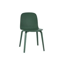 MUUTO(ムート) VISU CHAIR WOOD BASE グリーン