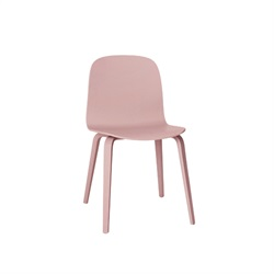 MUUTO(ムート) VISU CHAIR WOOD BASE ローズ