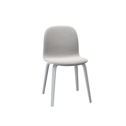MUUTO(ムート)VISU CHAIR WOOD BASE Steelcut Trio133/グレー