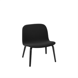 MUUTO(ムート)VISU LOUNGE CHAIR Steelcut190/ブラック