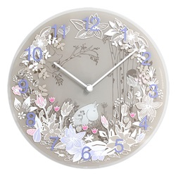 MOOMIN TIMEPIECES(ムーミン・タイムピーシーズ)「Moomin picking flower」[485MTP030009]
