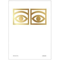 Olle Eksell(オーレ・エクセル)アートプリント「Ogon Cacao(カカオアイズ)」ゴールド[485OEL040008]