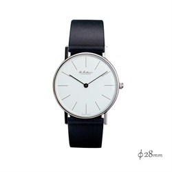 Ole Mathiesen(オーレ・マティーセン)Classic Quartz 28mm Steel Line/White