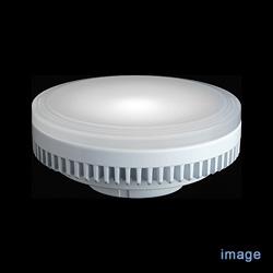<ヤマギワ> GX53 LEDユニットフラット形 6.7W 昼白色 560lm / 中角40°【受注品】[54704LDF7NWGX53/3] 蛍光灯・電球画像