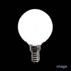 E14 ボールランプφ50mm 100/110V 60W形[54711100/110V54WG50E14]