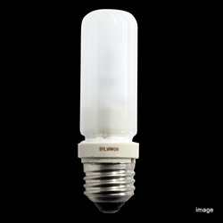 <ヤマギワ> E26 二重管ハロゲンランプフロスト 120V 100W[54756JT120V100WE3F] 蛍光灯・電球 電球・ハロゲン電球画像