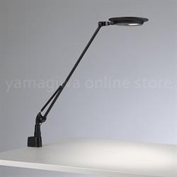 YAMAGIWA ( ヤマギワ ) LEDタスクライト 「 Rebio ( レビオ )」シングルアーム/クランプタイプ/ブラック[555REBIOSA/CL/BK]