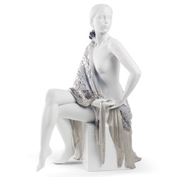 Lladro(リヤドロ)「Re-Deco(リ・デコ)NUDE WITH SHAWL(セビリアの娘)」[610A08673]