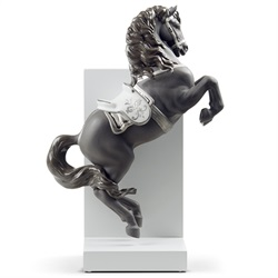 Lladro(リヤドロ)「Re-Deco(リ・デコ)HORSE ON COURBETTE(跳躍)」[610A08721]