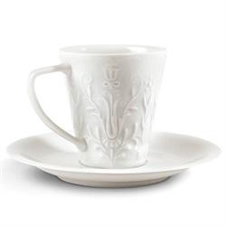 Lladro(リヤドロ)「DEMITASSECUP & SAUSER(デミタスカップ&ソーサー)」[610A09602]