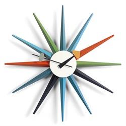 Vitra(ヴィトラ)「Sunburst Clock(サンバースト クロック)」マルチカラー[914VI20125301]