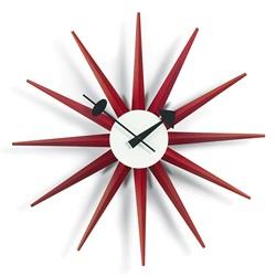 Vitra(ヴィトラ)「Sunburst Clock(サンバースト クロック)」レッド[914VI20125302]