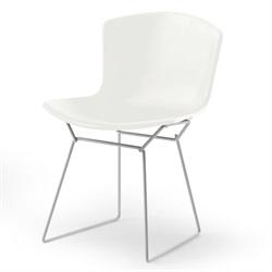 Knoll ( ノル )「 Plastic Side Chair ( プラスチック サイドチェア )1956年」スチールワイヤーホワイト/ホワイト[935PC420D-2-WH]