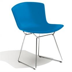 Knoll ( ノル )「 Plastic Side Chair ( プラスチック サイドチェア )1956年」スチールワイヤークローム/ブルー【取寄品】[935PC420D-C-BLUE]