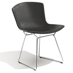 Knoll ( ノル )「 Plastic Side Chair ( プラスチック サイドチェア )1956年」スチールワイヤークローム/ブラック[935PC420D-C-BL]