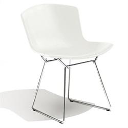 Knoll ( ノル )「 Plastic Side Chair ( プラスチック サイドチェア )1956年」スチールワイヤークローム/ホワイト[935PC420D-C-WH]