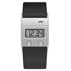 <ヤマギワ> BRAUN ( ブラウン )「 Digital Watch (デジタルウォッチ) BN0076 」[996BN0076SLBKG] メンズ 腕時計 ウデドケイ画像