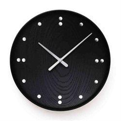 Finn Juhl(フィン・ユール)Wall Clock Black 250mm[996FJ781]