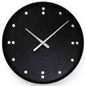Finn Juhl(フィン・ユール) Wall Clock Black 345mm[996FJ782]